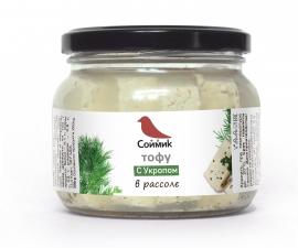 Тофу с укропом в рассоле 200 г