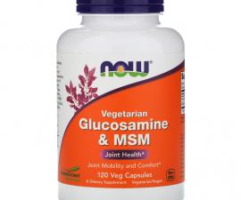 Глюкозамин и МСМ, 120 капсул