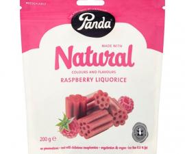 Лакрица малина-солодка Panda 200 г