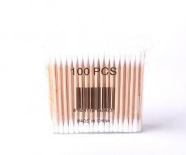 Ватные палочки биоразлагаемые 100 шт