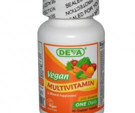 Мультивитаминный комплекс с железом Deva 90 табл